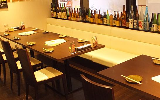 テーブル席A(8名様用)