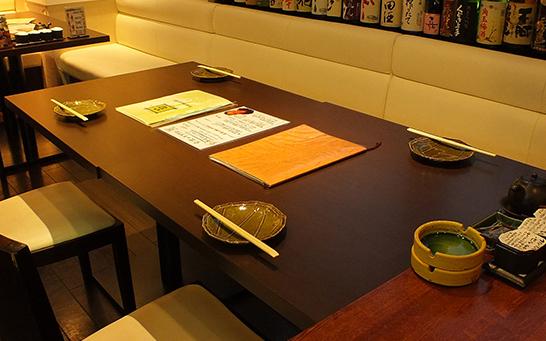 テーブル席B(4名様用)