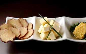 クリームチーズの味噌漬け(イブリガッコ付き)
